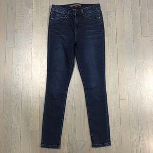 JOE'S Jeans Dark Blue Wash Skinny Leg Fit Denim 26